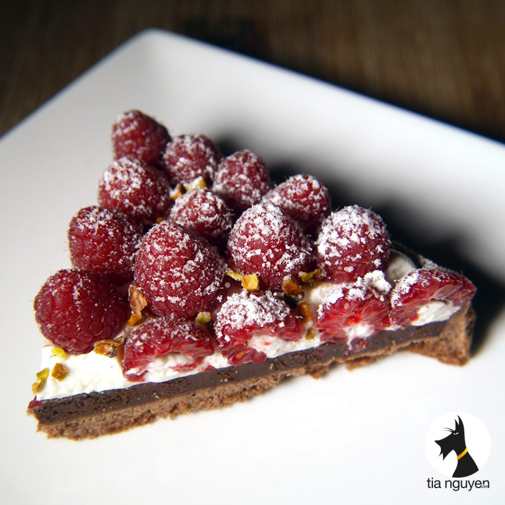 Tarte chocolat framboise cook expert magimix - Couler une douille ...