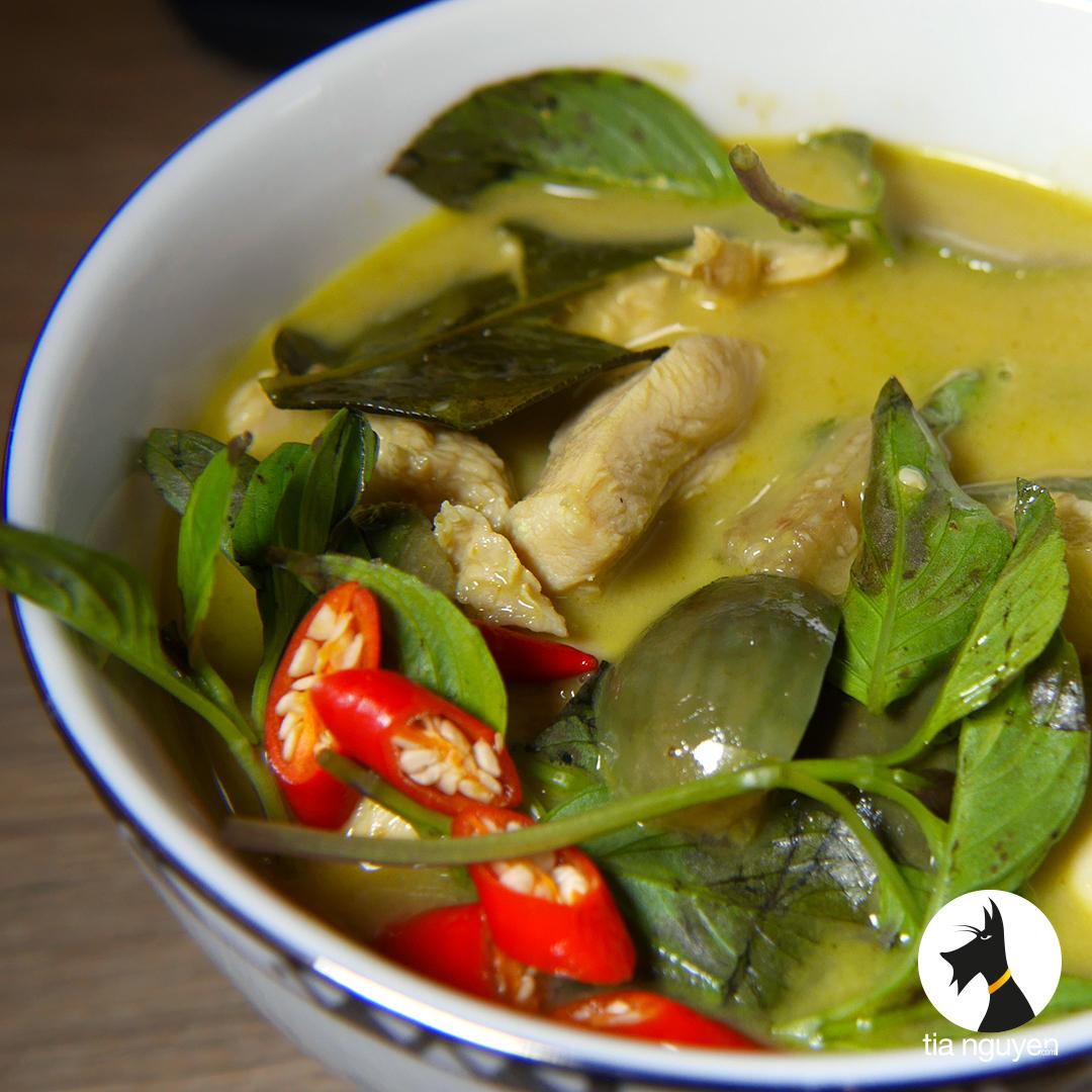 Poulet thai au curry vert cook expert magimix - Cuisine thai poulet curry vert ...